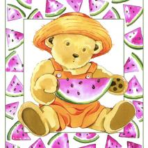 Watermelon-Bear