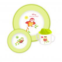 Baby Melamine Owls Who