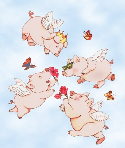 Flying Pigs Springtime