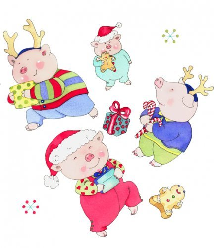 Holiday Piggies